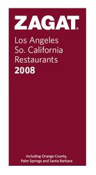 ZAGAT Restaurant Survey