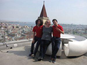 Jessie Voigts in Istanbul