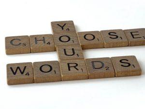 writer mistake using same words
