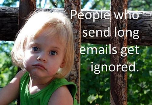 long e-mails