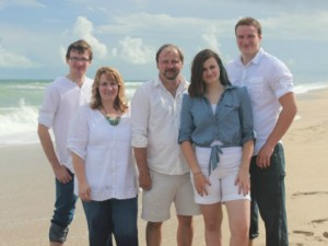 PratersFamily Photo near Sebastian Inlet in Florida.