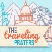 The Traveling Praters logo