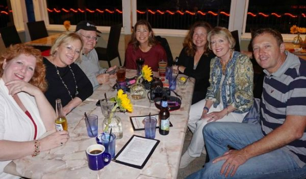 Travel Writers Networking at a NATJA event - TravelWriting2.com