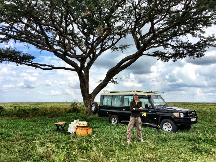 Matt Long of LandLopers.com in Tanzania featured on TravelWriting2.com