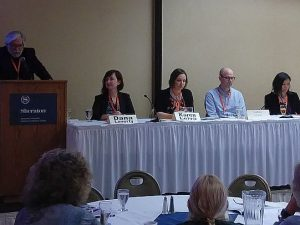 NATJA travel editors panel