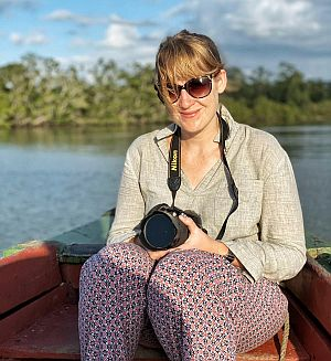 Steph Dyson blogger and travel writer