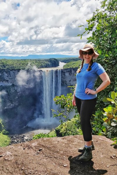 Travel Writing 2.0 interview with Steph Dyson, pictured here in Guyana
