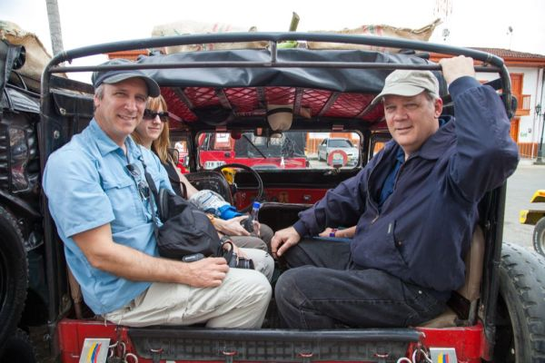 travel writers on a media trip